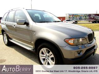 Used 2005 BMW X5 4.4i - AWD for sale in Woodbridge, ON