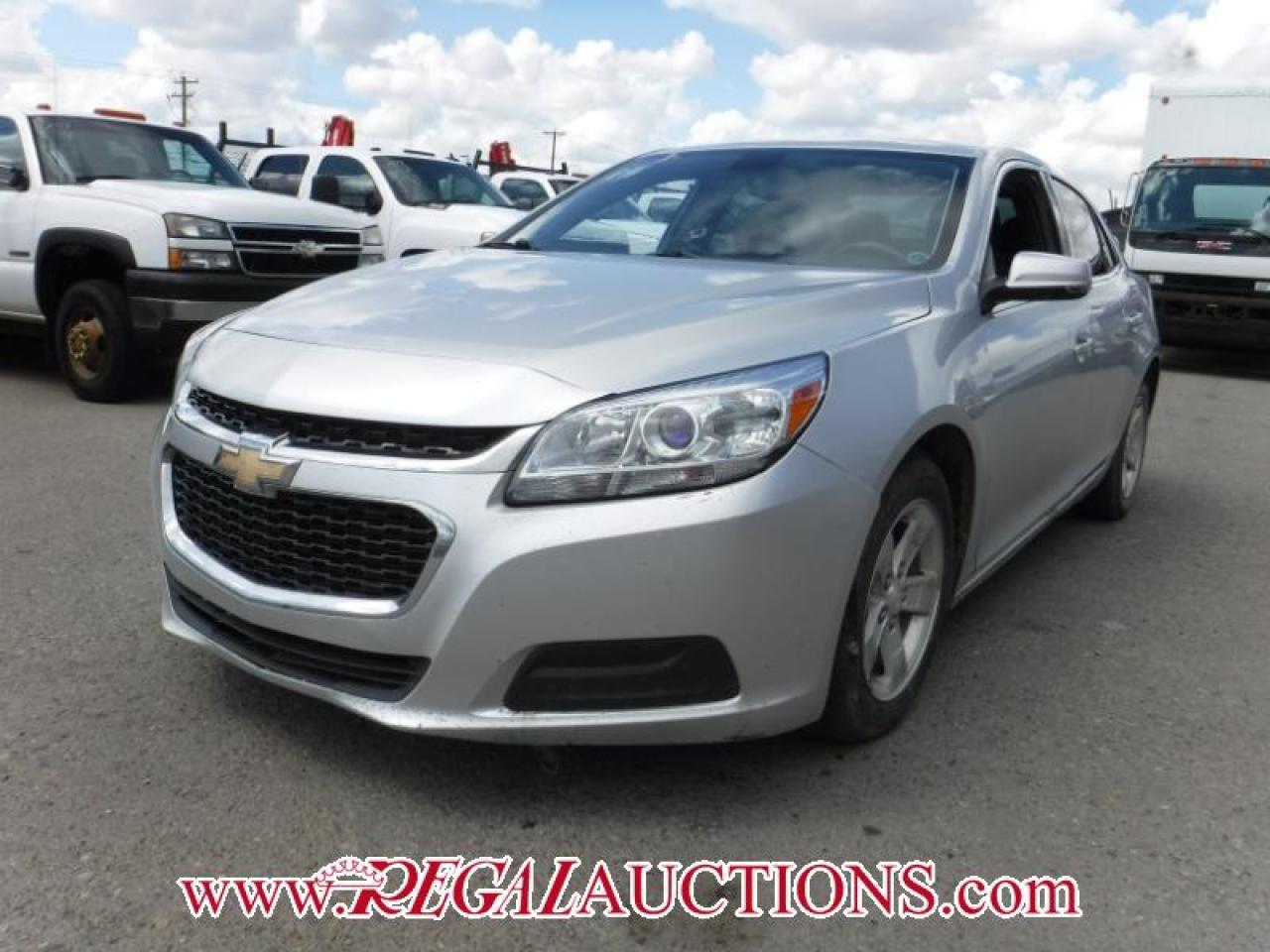 Photo of Silver 2014 Chevrolet MALIBU 1LT 4D SEDAN 2.5L