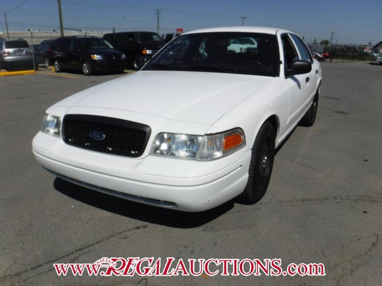 2011 Ford CROWN VICTORIA POLICE INTERCEPTOR 4D SEDAN RWD