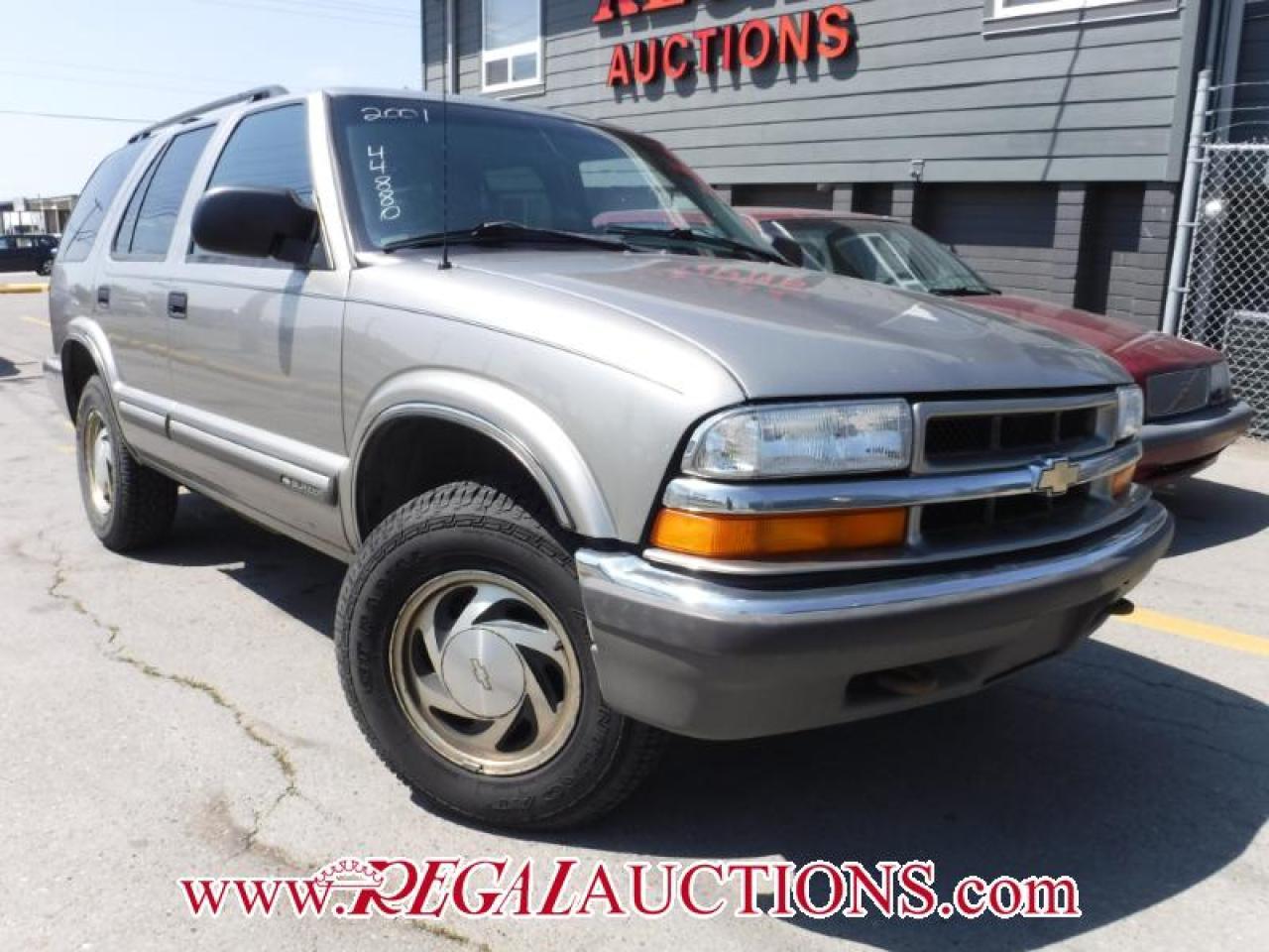 Photo of Brown 2001 Chevrolet BLAZER  4D UTILITY
