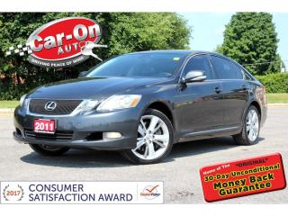 Used 2011 Lexus GS 350 AWD LEATHER NAV SUNROOF REAR CAM HTD/COOLED SEATS for sale in Ottawa, ON