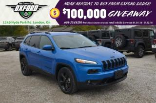 Used 2018 Jeep Cherokee Limited - lether, remote start, bluetooth, back up for sale in London, ON