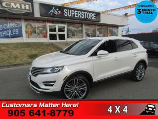 Used 2015 Lincoln MKC Reserve  AWD TECH-PKG ADAP-CC LD SELF-PARK NAV PANO-ROOF CS for sale in St. Catharines, ON