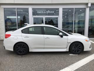 New 2019 Subaru WRX 2.0 BASE for sale in Vernon, BC