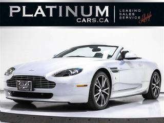 Used 2010 Aston Martin Vantage Roadster V8, 420HP, NAV, F1 PADDLE SHIFT for sale in Toronto, ON