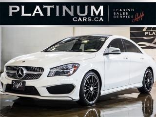 Used 2015 Mercedes-Benz CLA250 4MATIC, AMG SPORT, NAVI, PANO for sale in North York, ON