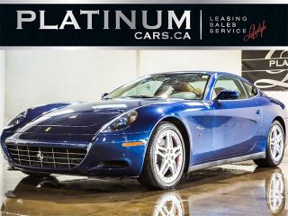 Used 2005 Ferrari 612 SCAGLIETTI, V12, TDF BLUE, F1 PADDLE SHIFT for sale in North York, ON