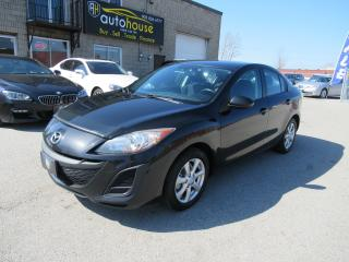 Used 2011 Mazda MAZDA3 GX MANUAL,5 SPEED,2.0L,ALLOY for sale in Newmarket, ON