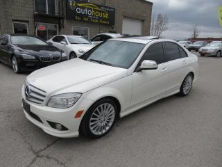 Used 2009 Mercedes-Benz C-Class LEATHER,SUNROOF,4MATIC for sale in Newmarket, ON