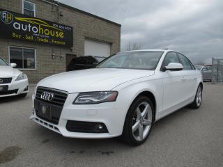 Used 2011 Audi A4 2.0T Premium PREMIUM PLUS,AWD,SUNROOF,LEATHER,HEATED SEAT for sale in Newmarket, ON