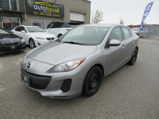 Used 2013 Mazda MAZDA3 GX 5 Speed manual for sale in Newmarket, ON