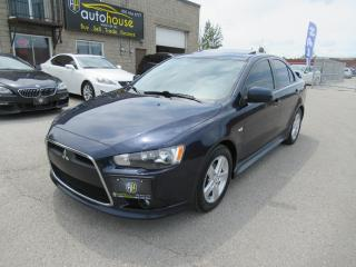 Used 2013 Mitsubishi Lancer GT Leather,Sunroof, 5Speed for sale in Newmarket, ON