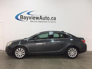 Used 2016 Buick Verano Base - ALLOYS! LTHR TRIM! DUAL CLIMATE! ON STAR! CRUISE! for sale in Belleville, ON