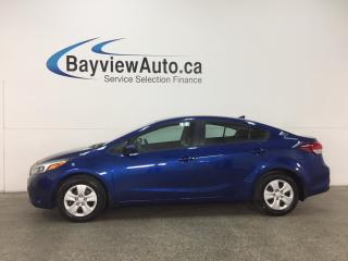 Used 2018 Kia Forte LX - TINT! BLUETOOTH! PWR GROUP! GAS BUDDY! for sale in Belleville, ON