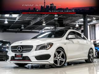 Used 2015 Mercedes-Benz CLA250 AMG|SPORT|4MATIC|NAVI|BLINDSPOT|PANO|XENONS for sale in North York, ON