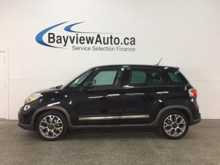 Used 2014 Fiat 500 L Trekking - ALLOYS! PANOROOF! HTD SEATS! NAV! BLUETOOTH! for sale in Belleville, ON