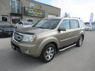Used 2011 Honda Pilot Touring,NAVI,DVD,Leather,Sunroof,Backup camera for sale in Newmarket, ON