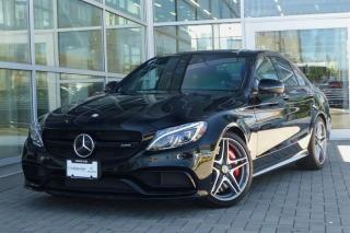 Used 2016 Mercedes-Benz C63 AMG Sedan Low Kms! for sale in Vancouver, BC