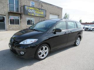 Used 2010 Mazda MAZDA5 GT AUTO,LEATHER,SUNROOF for sale in Newmarket, ON