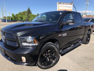 Used 2016 RAM 1500 Sport Absolutely Loaded! NAV, Sunroof, Leather, Heated Steering, Cooled Seats and more! for sale in Kemptville, ON