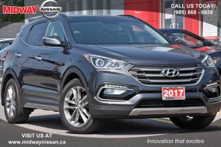 Used 2017 Hyundai Santa Fe Sport 2.0T Limited Navigation Bluetooth Sunroof for sale in Whitby, ON