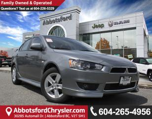 Used 2014 Mitsubishi Lancer GT *ACCIDENT FREE* *LOCALLY DRIVEN* for sale in Abbotsford, BC