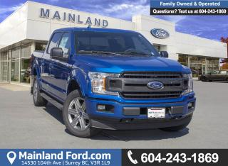 New 2018 Ford F-150 XLT for sale in Surrey, BC