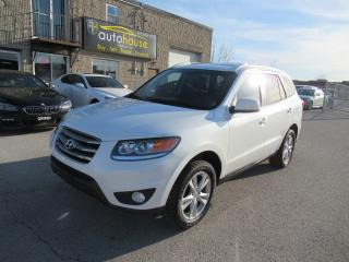 Used 2012 Hyundai Santa Fe Limited 3.5 V6, AWD,SUNROOF, leather for sale in Newmarket, ON
