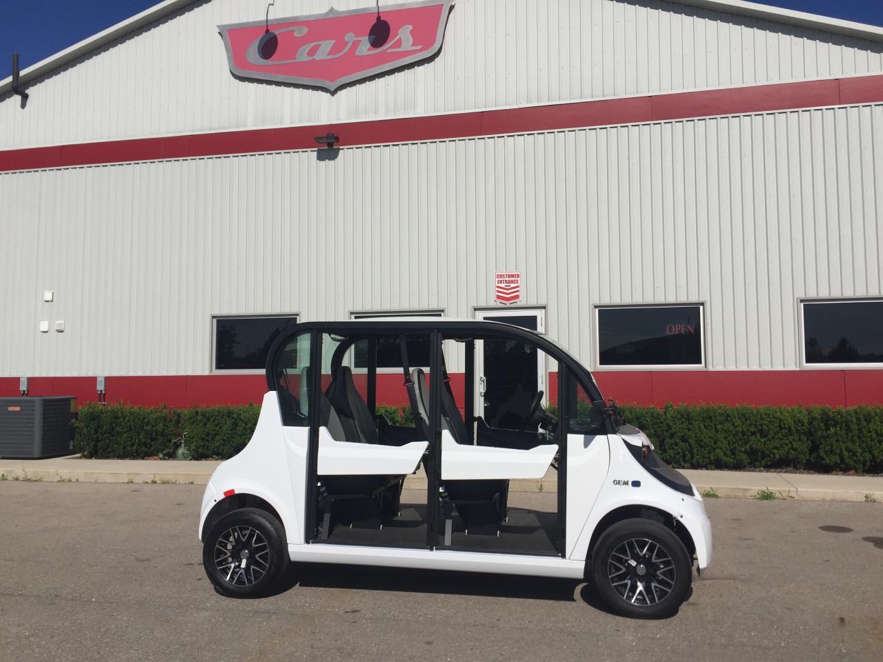 2018 GEM E825 e4 Low Speed Vehicle