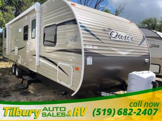 New 2019 Forest River SHASTA OASIS 31OK OUTDOOR KITCHEN!! for sale in Tilbury, ON