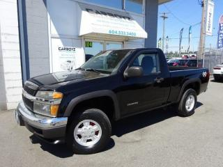 Used 2005 Chevrolet Colorado LS 4x4, Regular Cab, Auto, A/C, Power Group for sale in Langley, BC