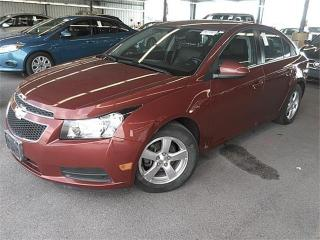 Used 2014 Chevrolet Cruze 2LT-AUTO-LEATHER-CAMERA-ONLY 69KM for sale in York, ON