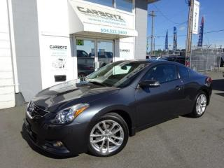 Used 2010 Nissan Altima 3.5 SR Coupe, Leather, Sunroof, 1 Owner, Low Kms for sale in Langley, BC