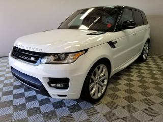 Used 2016 Land Rover Range Rover Sport V8 Supercharged Dynamic - CPO 6yr/160000kms manufacturer warranty included until April 29, 2022! CPO rates starting at 2.9%! for sale in Edmonton, AB