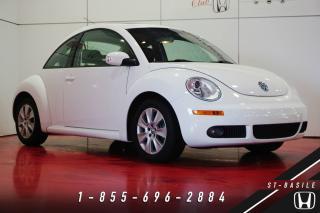 Used 2010 Volkswagen New Beetle COMFORTLINE + CUIR + TOIT + BAS KILOS + for sale in St-Basile-le-Grand, QC