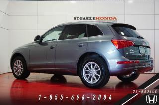 Used 2012 Audi Q5 Premium Plus + 33 201 KM + 2.0 TFSI + SU for sale in St-Basile-le-Grand, QC