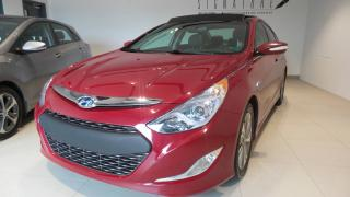 Used 2015 Hyundai Sonata Hybride hybride,Limited toit ouvrant for sale in St-Raymond, QC