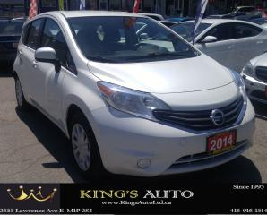 Used 2014 Nissan Versa Note SV for sale in Scarborough, ON