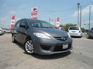 Used 2009 Mazda MAZDA5 AUTO 6 PASS NO ACCIDENT SAFETY  A/C PW PL PM REMOT for sale in Oakville, ON