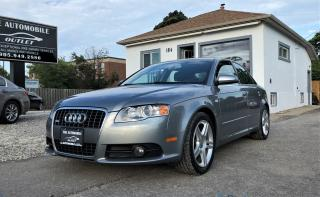 Used 2008 Audi A4 2.0T S-LINE QUATTRO LEATHER AWD NO ACCIDENT for sale in Mississauga, ON