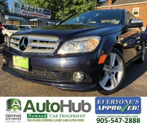 Used 2008 Mercedes-Benz C-Class C300-4 MATIC-LEATHER-SUNROOF for sale in Hamilton, ON