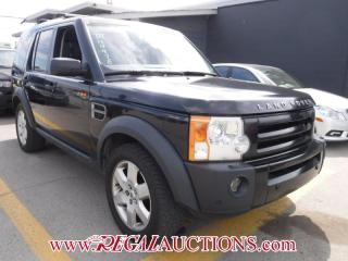 Used 2007 Land Rover LR3 HSE 4D UTILITY 4WD for sale in Calgary, AB