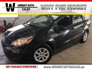 Used 2015 Kia Rio LX+|BLUETOOTH|A/C|KEYLESS ENTRY|43,149 KM for sale in Cambridge, ON
