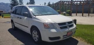 Used 2008 Dodge Grand Caravan CARGO VAN for sale in West Kelowna, BC