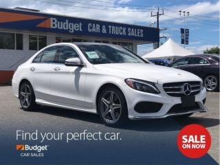 Used 2016 Mercedes-Benz C-Class 300 Series, Radar Assist, All Wheel Drive for sale in Vancouver, BC
