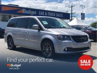 Used 2017 Dodge Grand Caravan Blacktop Edition, Navigation, DVD for sale in Vancouver, BC