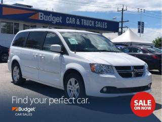 Used 2017 Dodge Grand Caravan Crew Plus Edition, Navigation, DVD for sale in Vancouver, BC
