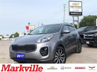Used 2017 Kia Sportage EX-AWD-LEATHER-CERTIFIED PRE-OWNED-1 OWNER for sale in Markham, ON