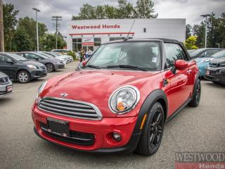 Used 2014 MINI Cooper CONVERTIBLE COOPER for sale in Port Moody, BC