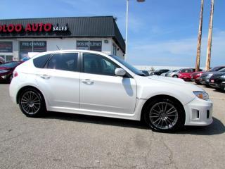 Used 2013 Subaru Impreza WRX WRX AWD 5 SPEED MANUAL BLUETOOTH CERTIFIED for sale in Milton, ON